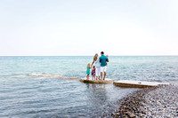 Beach family photo session cedarburg wi photographer